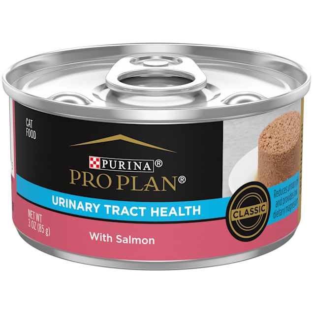 Purina Pro Plan Focus Urinary Tract Health Formula With Salmon Pate Wet Cat Food, 3 oz., Case of 24 - Carousel image #1