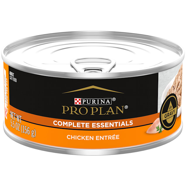 Purina Pro Plan Gravy Chicken Entree Wet Cat Food, 5.5 oz., Case of 24 - Carousel image #1
