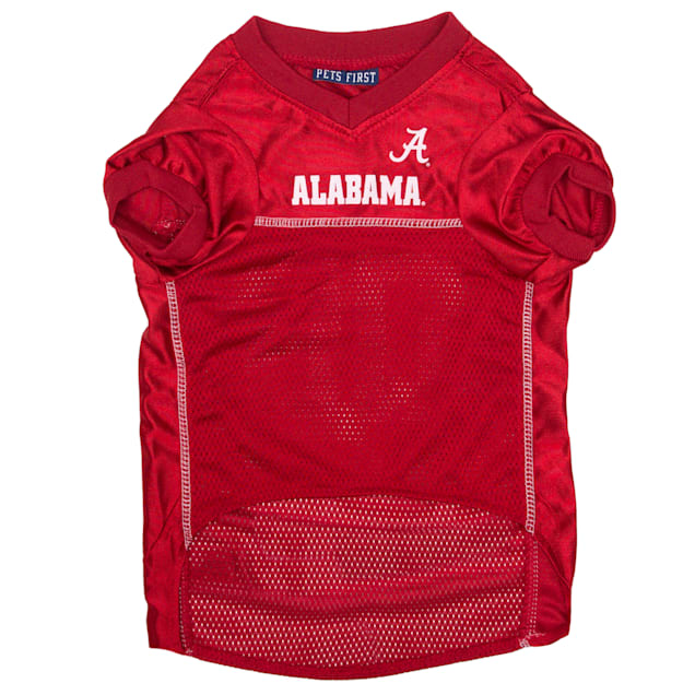 Pets First Alabama Crimson Tide NCAA Mesh Jersey for Dogs, X-Small - Carousel image #1