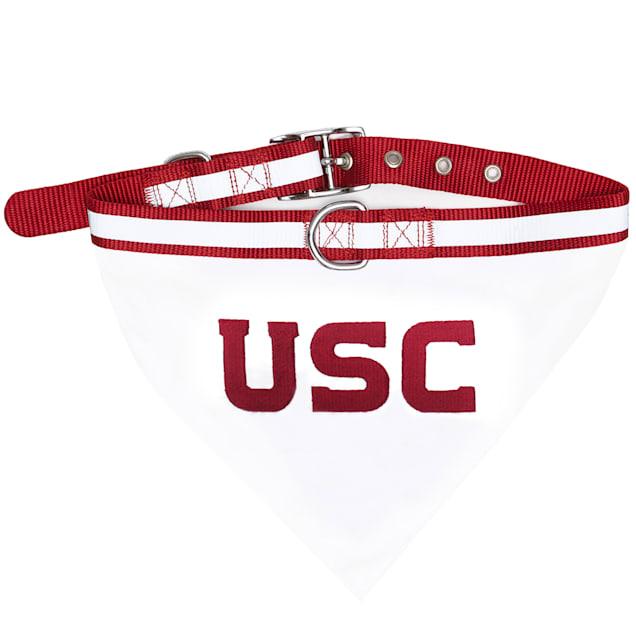 USC Trojans NCAA Dog Collar Bandana, Small - Carousel image #1