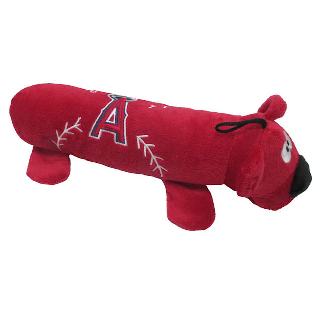 Pets First MLB Los Angeles Angels Tube Toy, Large - Carousel image #1