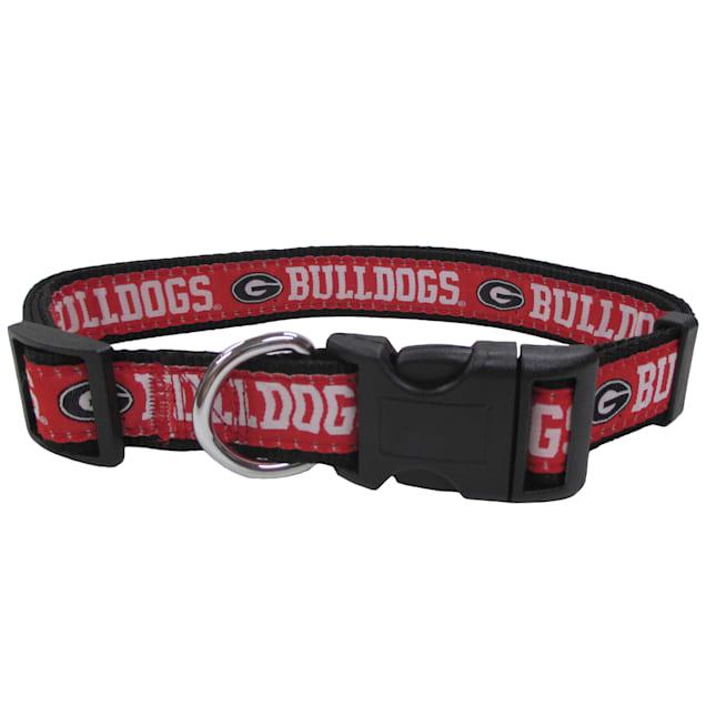 Pets First Georgia Bulldogs NCAA Dog Collar, Small - Carousel image #1