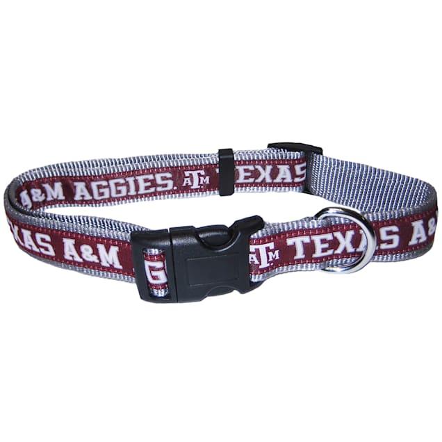 Texas A&M Aggies NCAA Dog Collar, Small - Carousel image #1