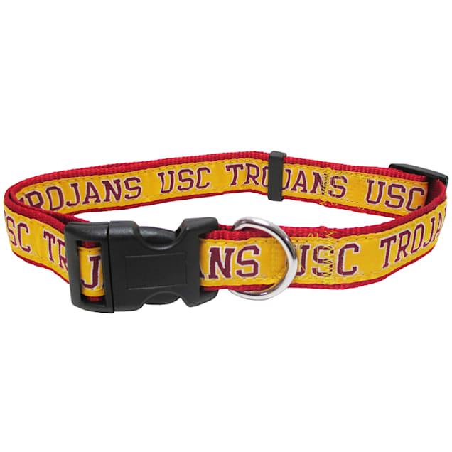 USC Trojans NCAA Dog Collar, Small - Carousel image #1