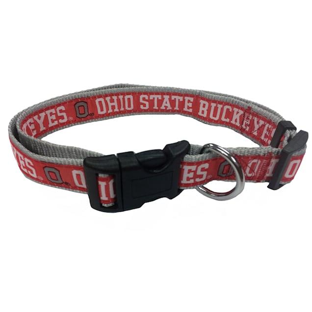 Pets First Ohio State Buckeyes NCAA Dog Collar, Small - Carousel image #1