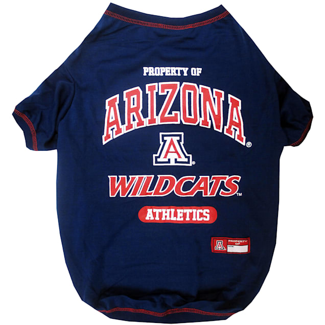 Pets First Arizona Wildcats NCAA T-Shirt for Dogs, X-Small - Carousel image #1