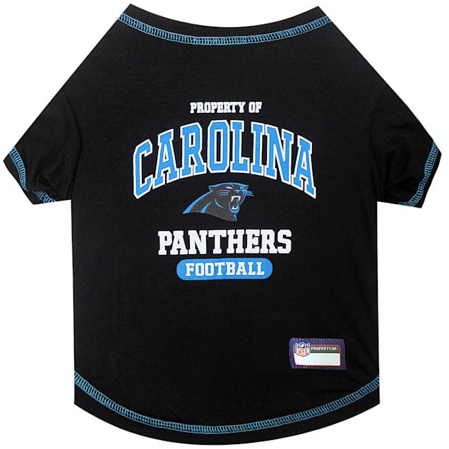 Pets First Carolina Panthers T-Shirt, X-Small - Carousel image #1