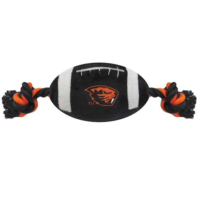 Pets First Oregon State Beavers NCAA Football Dog Toy, Large - Carousel image #1