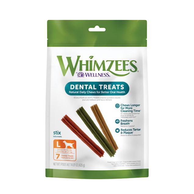 Whimzees Large Stix Dog Treats, 7 Pieces - Carousel image #1