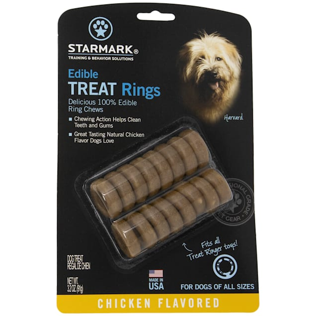 Starmark Dog Edible Treat Rings, 3.7 oz. - Carousel image #1