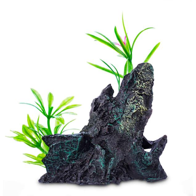 Imagitarium Assorted Rock Garden Aquatic Decor, Small - Carousel image #1