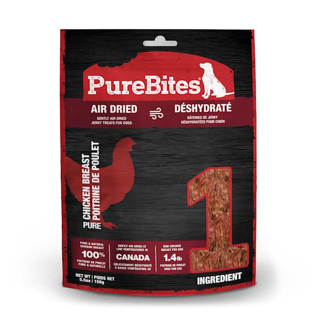 PureBites Chicken Jerky Mid Size Dog Treats, 5.5 oz. - Carousel image #1