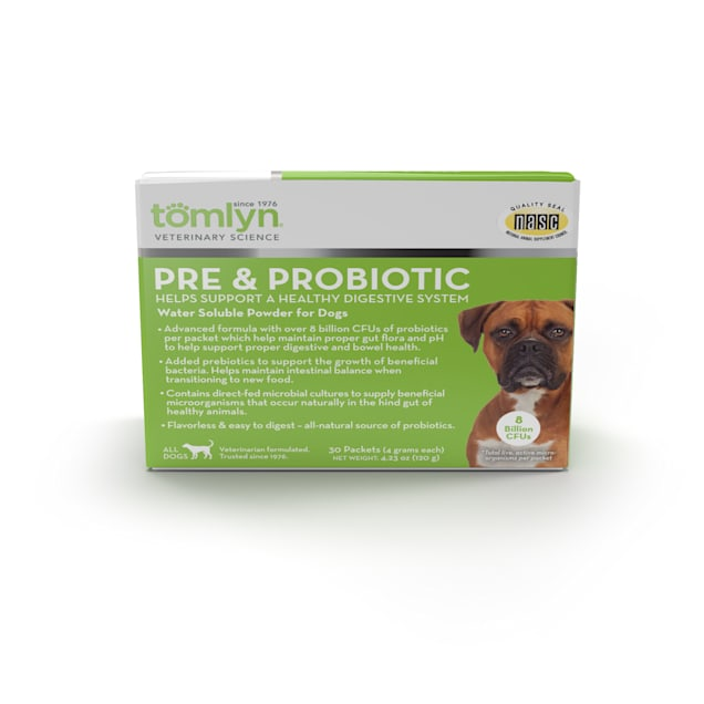 Tomlyn Pre & Probiotic Powder for Dogs, 30 count - Carousel image #1