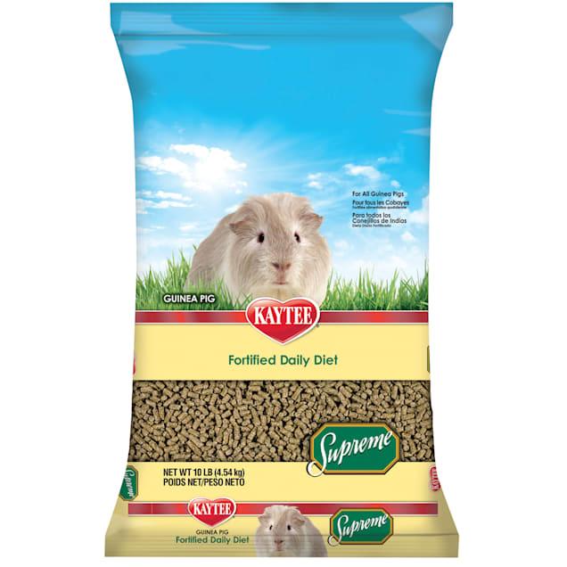 Kaytee Supreme Daily Blend Guinea Pig Diet, 10 lbs - Carousel image #1