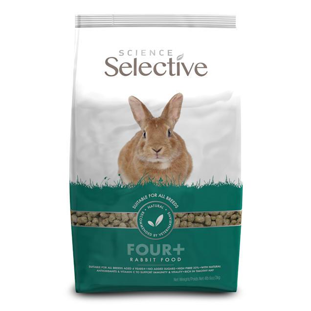 Supreme Science Selective Mature Rabbit Food, 4 lbs. 6 oz. - Carousel image #1