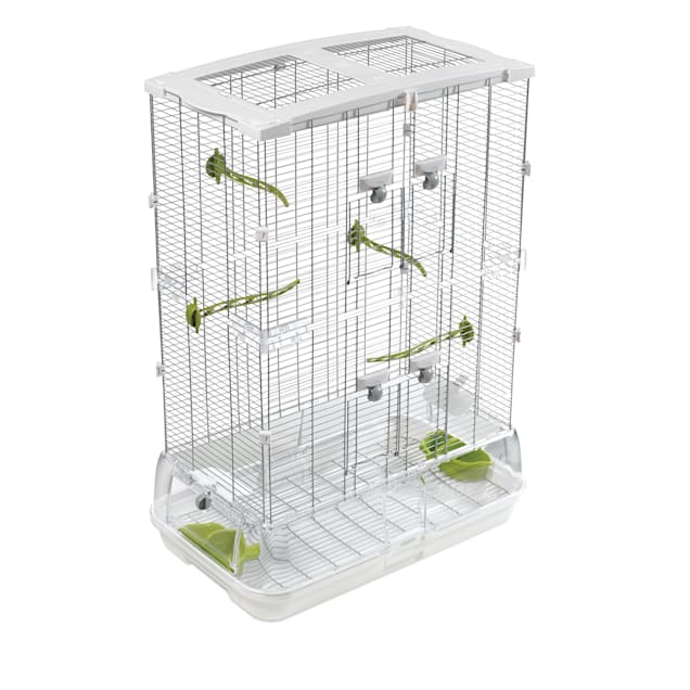 "Hagen Vision Bird Cage Model M02, 24.6"" L X 15.6"" W X 34.3"" H - Carousel image #1"