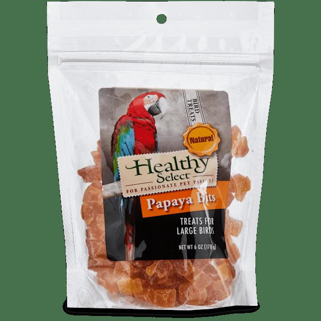 Healthy Select Papaya Bits Treats for Large Birds, 6 oz. - Carousel image #1