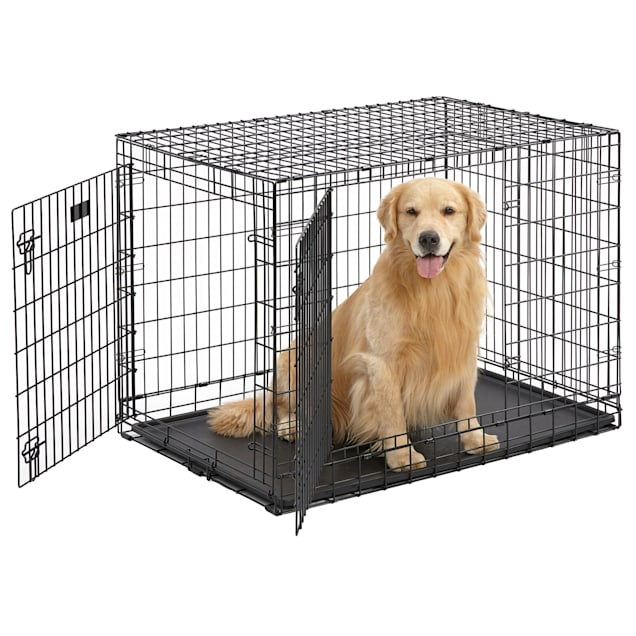 """Midwest Ultima Pro Double Door Dog Crate, 42"""" L X 28"""" W X 32"""" H - Carousel image #1"""