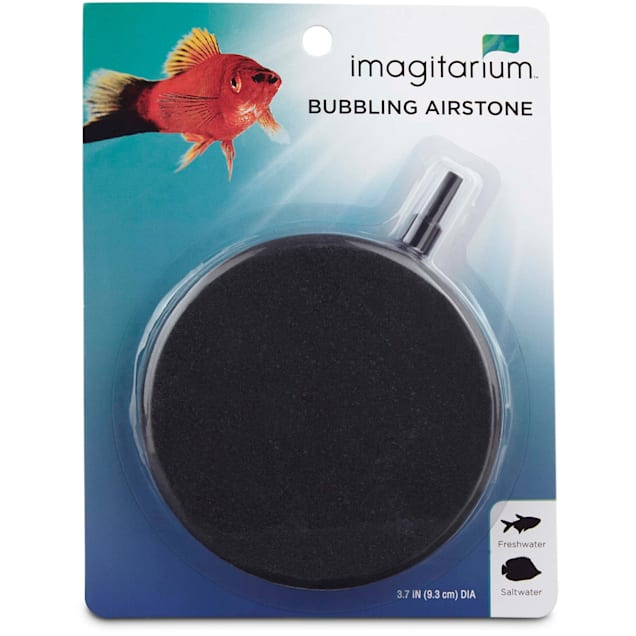 """Imagitarium Bubbling Round Airstone, 3.7"""" Diameter - Carousel image #1"""