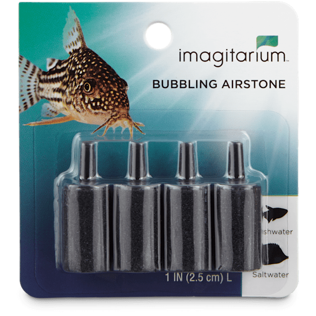 "Imagitarium Bubbling Column Airstone 4-Pack, 1"" - Carousel image #1"