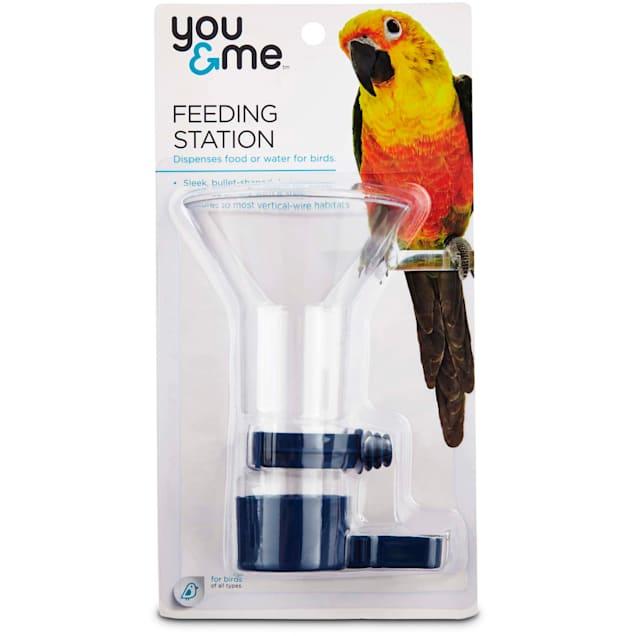 You & Me Wide Mouth Bird Feeding Station, Medium - Carousel image #1