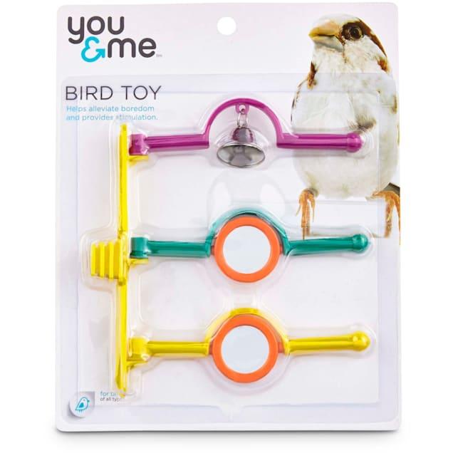 You & Me Spinning Bird Perch Ladder Toy, Medium - Carousel image #1