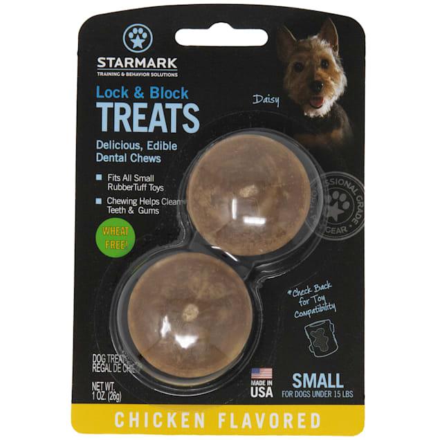 Starkmark Lock & Block Dental Chew Chicken Flavor, Small - Carousel image #1