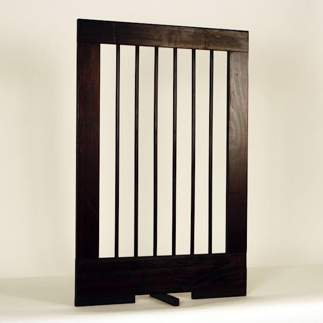 "Cardinal Gates 24"" Extension for 4-Panel Pet Gate, Walnut - Carousel image #1"