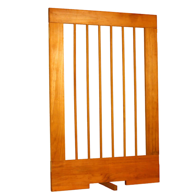 "Cardinal Gates 24"" Extension for 4-Panel Pet Gate, Oak - Carousel image #1"