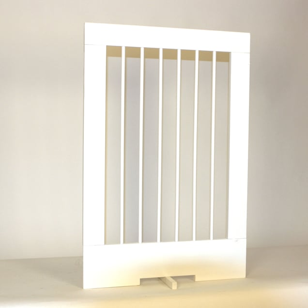 "Cardinal Gates 24"" Extension for 4-Panel Pet Gate, White - Carousel image #1"