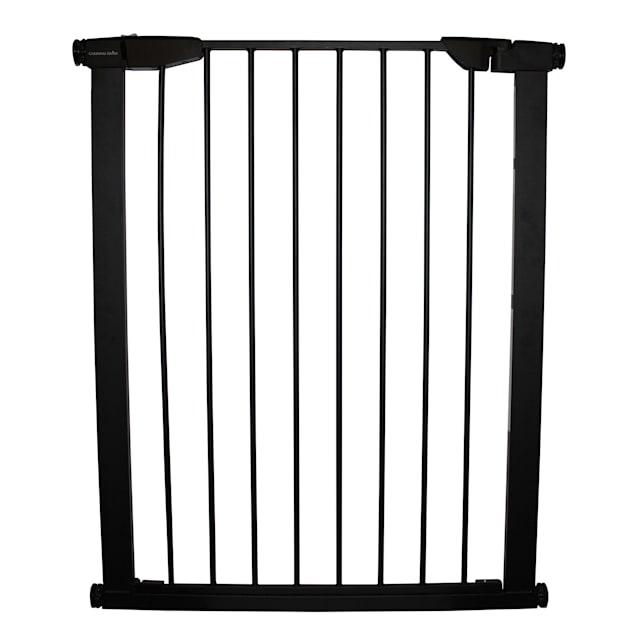 Cardinal Gates Premium Pressure Gate, Black, Extra Tall - Carousel image #1