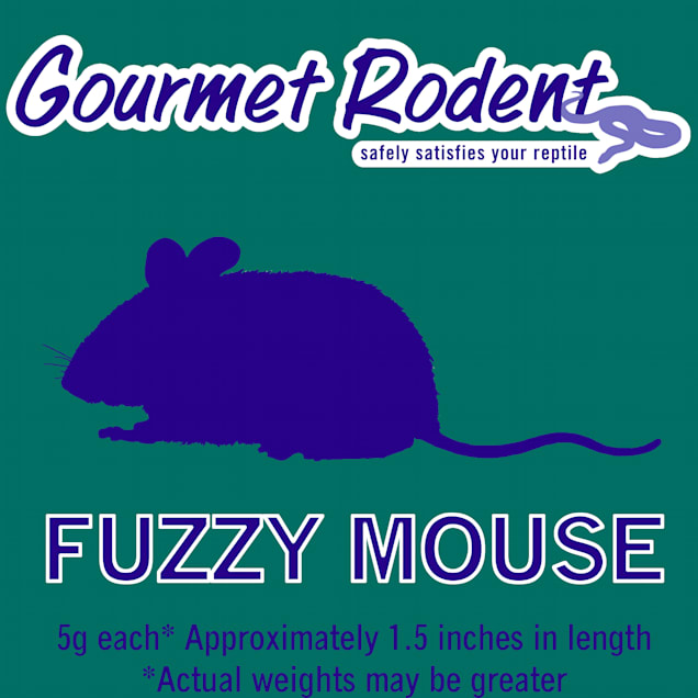 Frozen Fuzzy Mouse, Count of 50 - Carousel image #1