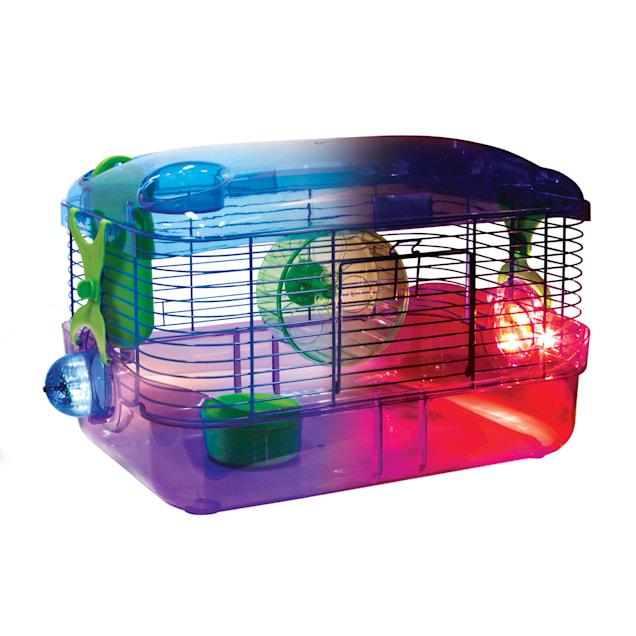 Kaytee CritterTrail LED Lighted Habitat - Carousel image #1