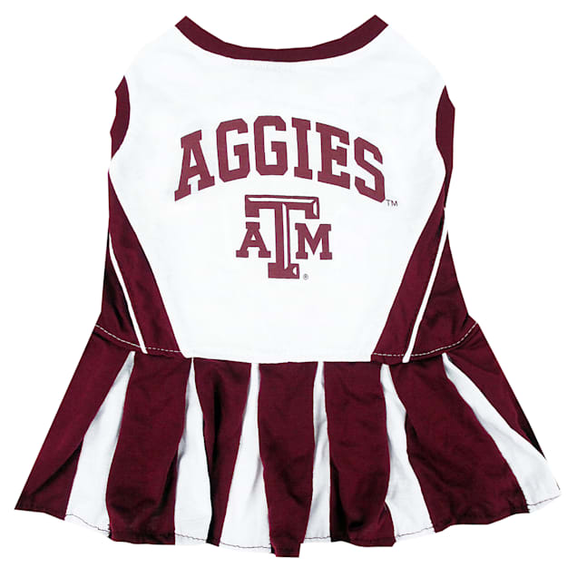 Pets First Texas A&M Aggies Cheerleading Outfit, X-Small - Carousel image #1