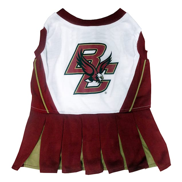 Pets First Boston College Eagles Cheerleading Outfit, X-Small - Carousel image #1