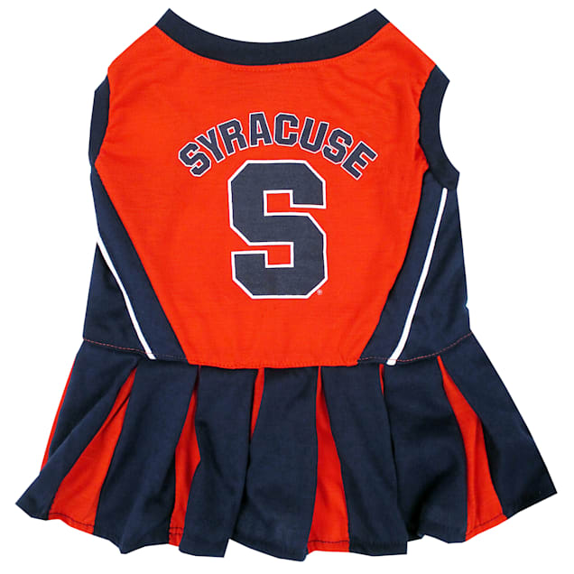 Pets First Syracuse Orange Cheerleading Outfit, X-Small - Carousel image #1