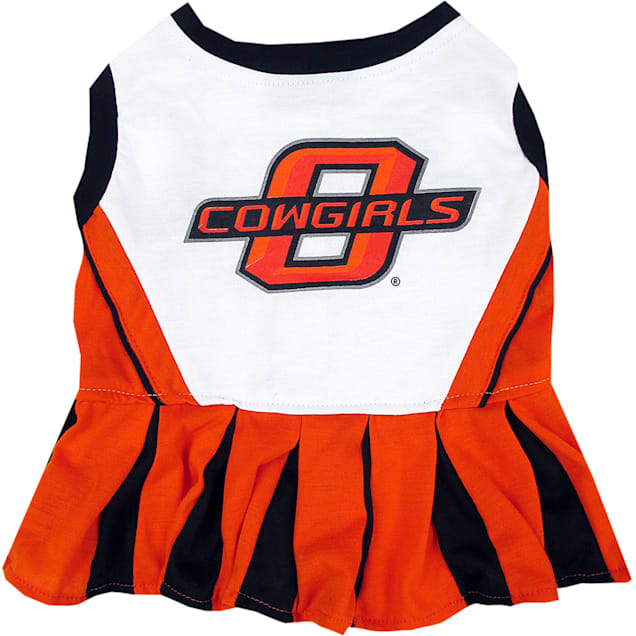 Pets First Oklahoma State Cowboys Cheerleading Outfit, X-Small - Carousel image #1