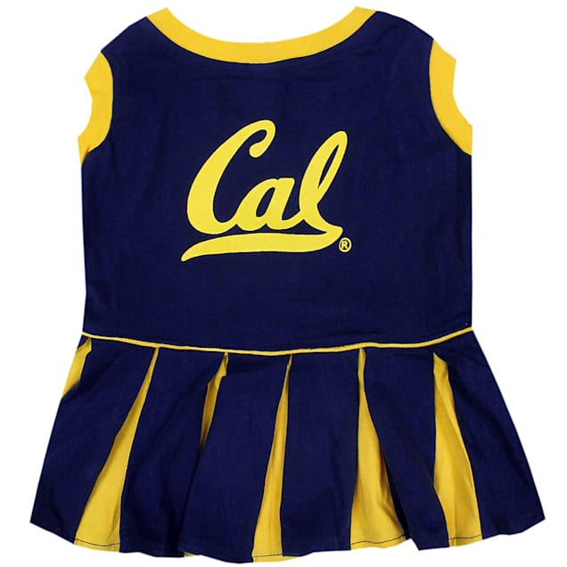 Pets First UC Berkeley Golden Bears Cheerleading Outfit, X-Small - Carousel image #1