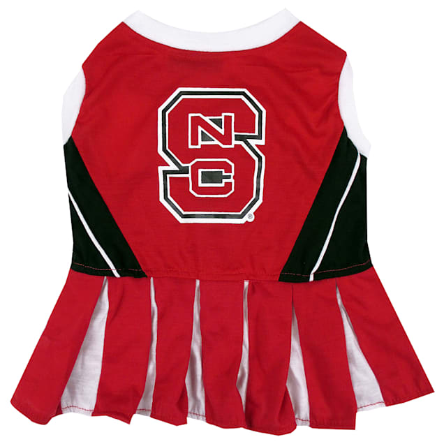 Pets First North Carolina State Wolfpack Cheerleading Outfit, X-Small - Carousel image #1