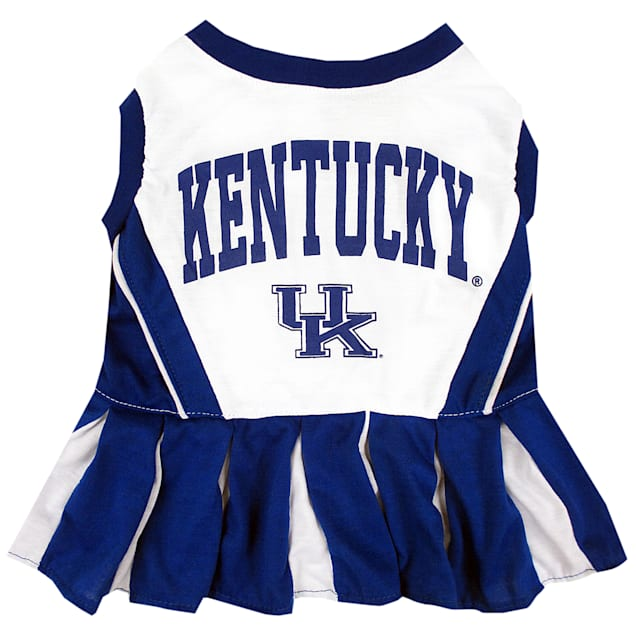 Pets First Kentucky Wildcats Cheerleading Outfit, X-Small - Carousel image #1