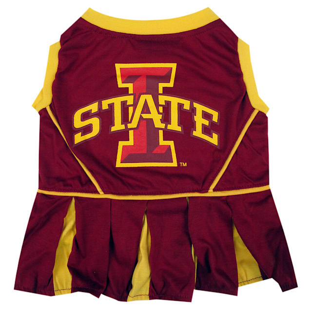Pets First Iowa State Cyclones Cheerleading Outfit, X-Small - Carousel image #1