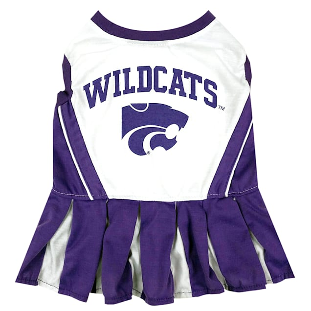 Pets First Kansas State Wildcats Cheerleading Outfit, X-Small - Carousel image #1