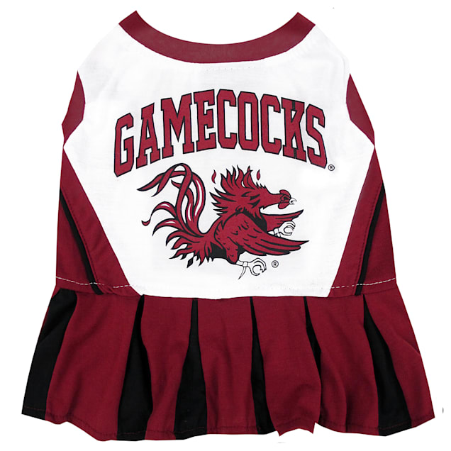 Pets First South Carolina Gamecocks Cheerleading Outfit, X-Small - Carousel image #1