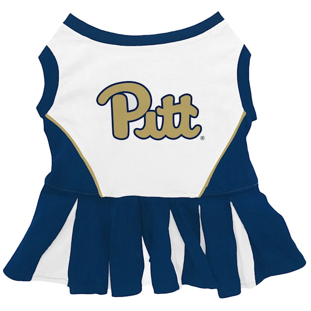 Pets First Pittsburgh Panthers Cheerleading Outfit, X-Small - Carousel image #1