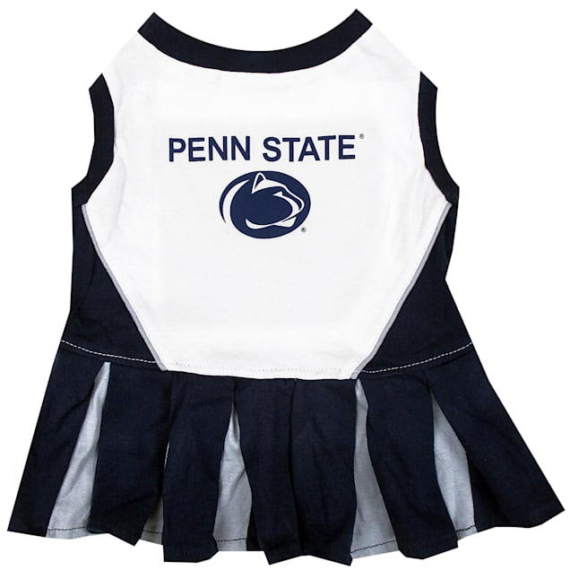 Pets First Penn State Nittany Lions Cheerleading Outfit, X-Small - Carousel image #1