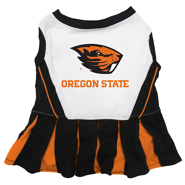Pets First Oregon State Beavers Cheerleading Outfit, X-Small - Carousel image #1