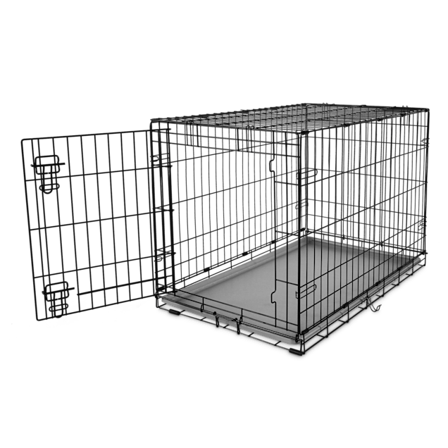 "You & Me 1-Door Folding Dog Crate, 36"" L x 22.5"" W x 24.9"" H - Carousel image #1"