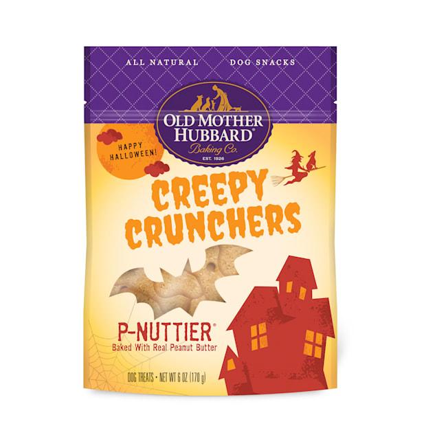 Old Mother Hubbard Halloween Natural Creepy Cruncher P-Nuttier Dog Treats, 6 oz. - Carousel image #1