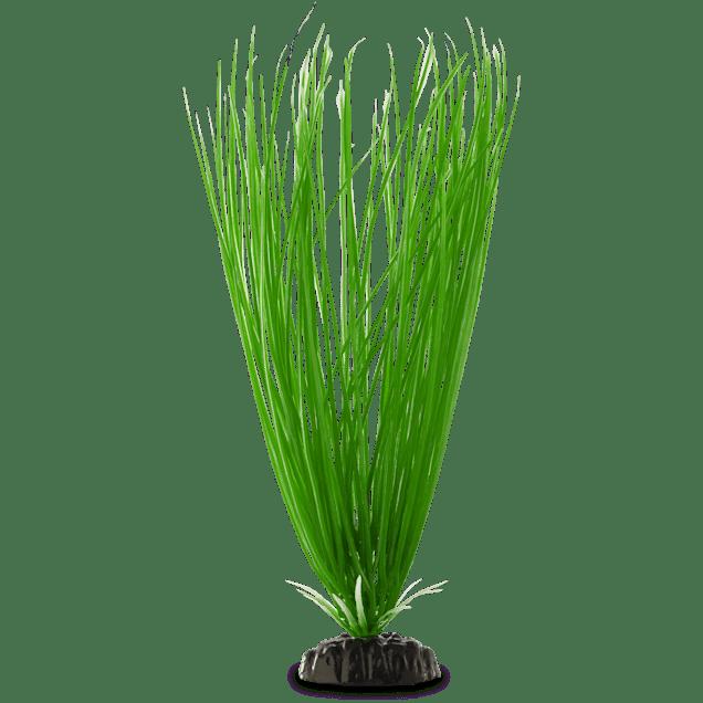 Imagitarium Green Hair grass Background Plastic Aquarium Plant - Carousel image #1