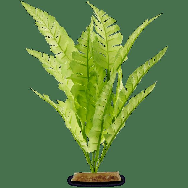 Imagitarium Bright Green Fern Silk Aquarium Plant - Carousel image #1